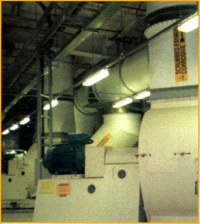 Exhaust Ducting and Fan